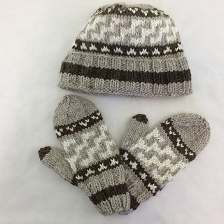 632d999c86a Ravelry  Cowichan-Inspired Hats   Mittens pattern by Beth Brown-Reinsel