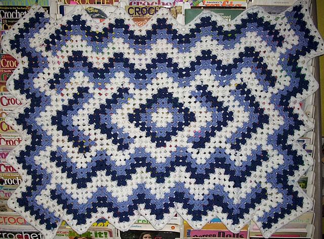 Ravelry: Drop in the Pond Lap Blanket pattern by Elizabeth Ham