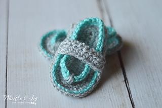 74015878f Ravelry  Baby Strap Flip-Flops pattern by Bethany Dearden