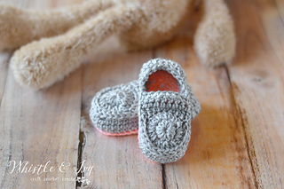 72996f39b Ravelry  Baby Loafer Booties pattern by Bethany Dearden