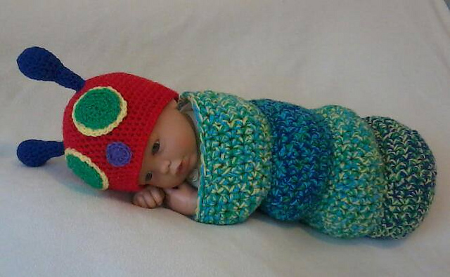 Ravelry Snug As A Bug Baby Caterpillar Cocoon Pattern By Little