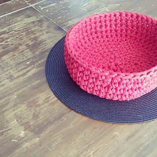 Ravelry t shirt yarn bowl pattern by bhooked crochet dt1010fo