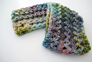 Ravelry  Braided Hairpin Lace Infinity Scarf pattern by B.hooked Crochet 2e3f4ca2dd9