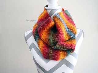 Knitting Loop Scarf : Ravelry knit alike scarf pattern by b hooked crochet