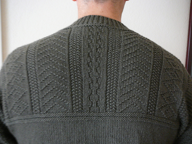 Ravelry Gansey Style Sweater Pattern By Alice Starmore