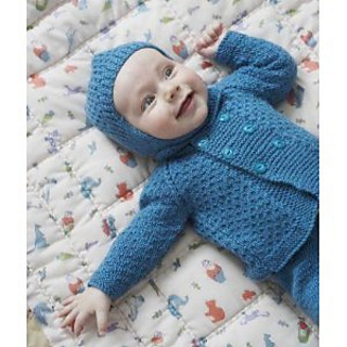 f629260f1 Ravelry   Comfrey  Pram Suit pattern by Rita Taylor