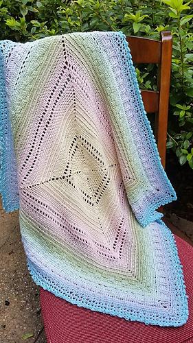 Yarn Cake Crochet Patterns Blanket