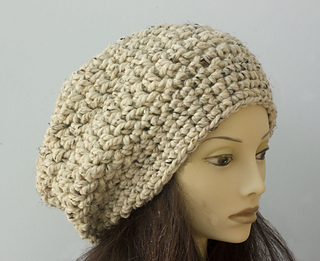 e46a16f4ee5 Ravelry  Chunky Slouchy Beanie pattern by Judy Stalus