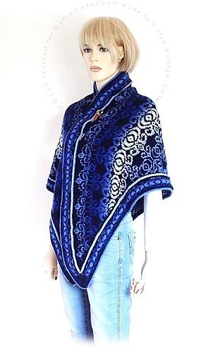 Ravelry: Dolly Fair Isle shawl pattern by DutchCo DESIGN