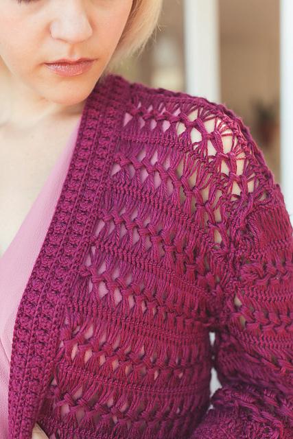 Geneva Cardigan from Modern Bohemian Crochet