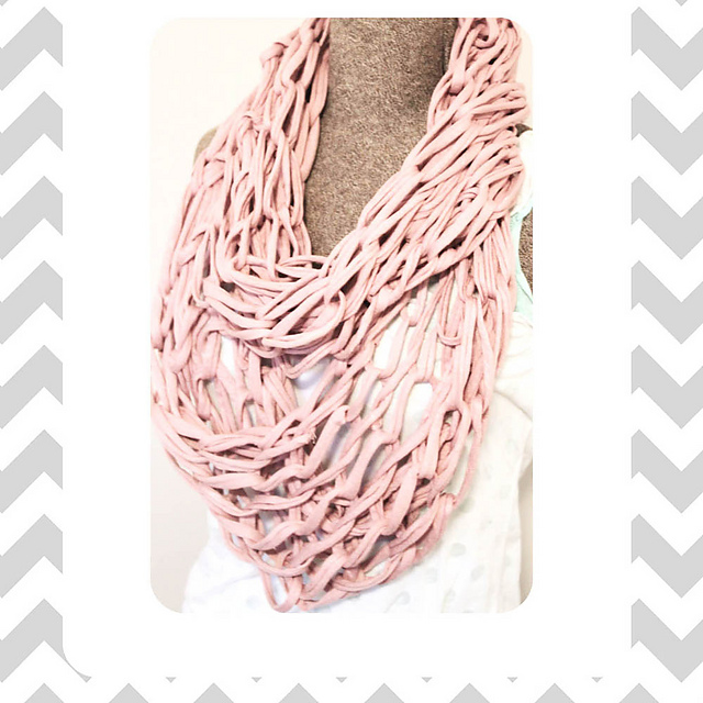 Ravelry Arm Knitted Infinity Scarf Pattern By Alanna Musgrove