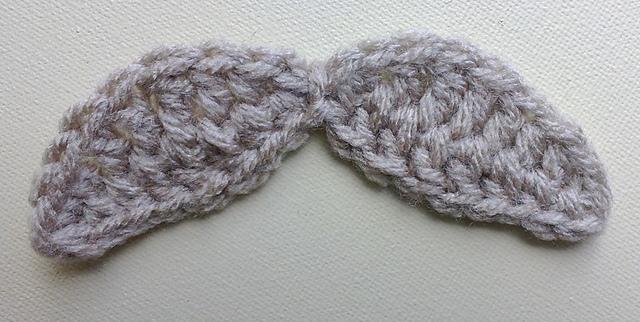 Ravelry Wide Mustache Crochet Tutorial Pattern By Bobwilson123