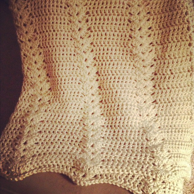 Ravelry Double Crochet And Shell Afghan Wrap Shawl Pattern By