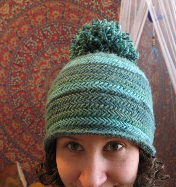 Ravelry Herringbone Hat Pattern By Kelly Mcclure