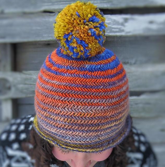 df939ae83d2 Ravelry  Herringbone Hat pattern by Kelly McClure