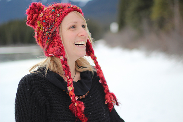 Ravelry: Hodgepodge Earflap Hat pattern by Kelly McClure