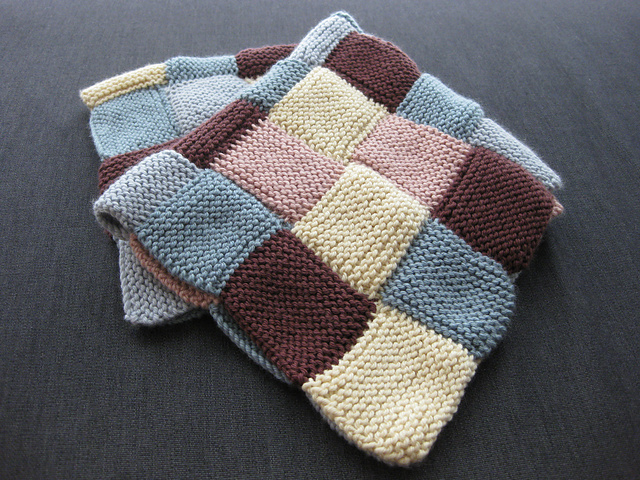 Ravelry: Garter Stitch Blanket pattern by Debbie Bliss