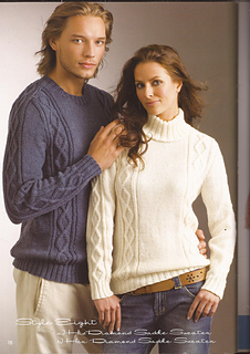 5c97b5f4e845a8 Ravelry  Diamond Saddle Sweater pattern by Patons Australia