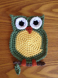c72fe3f25 Ravelry  Owl Coaster pattern by Bonna Chaplain
