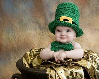 Ravelry  Leprechaun Baby Hat Irish St Patty s Day pattern by Kat Kennedy da7891eb46a