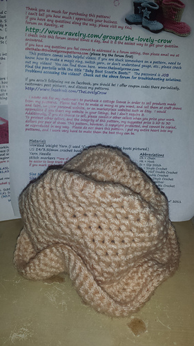 Ravelry  Cowboy Hat and Boots Set pattern by Elizabeth Alan fc75360a5416