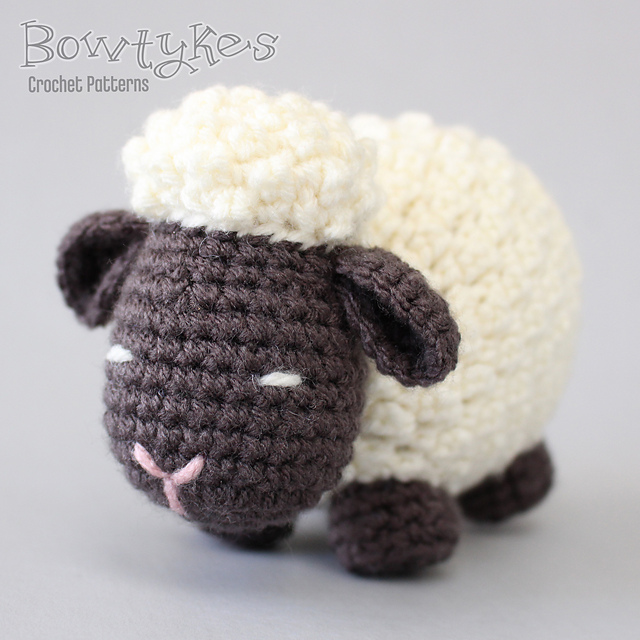 Ravelry Argo The Amigurumi Sheep Pattern By Briana Olsen