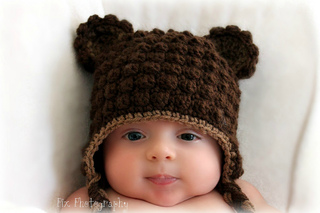 4 colors Crochet Baby Hat Hand Knitted Teddy Bear Hat Photo ... | 213x320