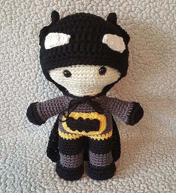 Ravelry Batman Mods For Maddy Doll Pattern By Brooke Rabideau