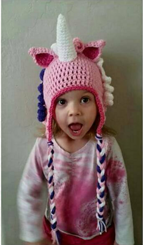Ravelry  Unicorn Hat pattern by Brooke Rabideau 2daf8dd349f