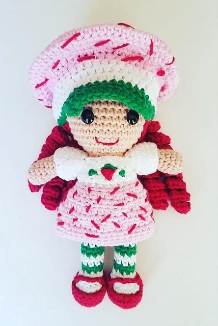 Ravelry Strawberry Shortcake Pattern By Brooke Rabideau