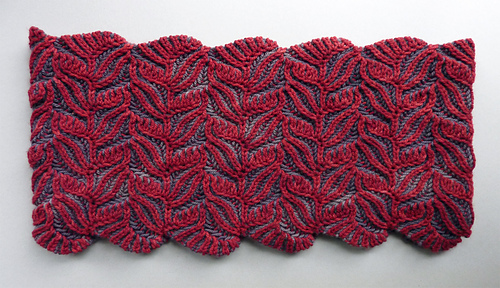 Ravelry Damask Cowl Pattern By Nancy Marchant