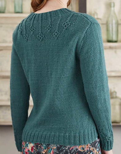 """优雅的女士针织套衫""""翡翠"""" - maomao - 我随心动"""