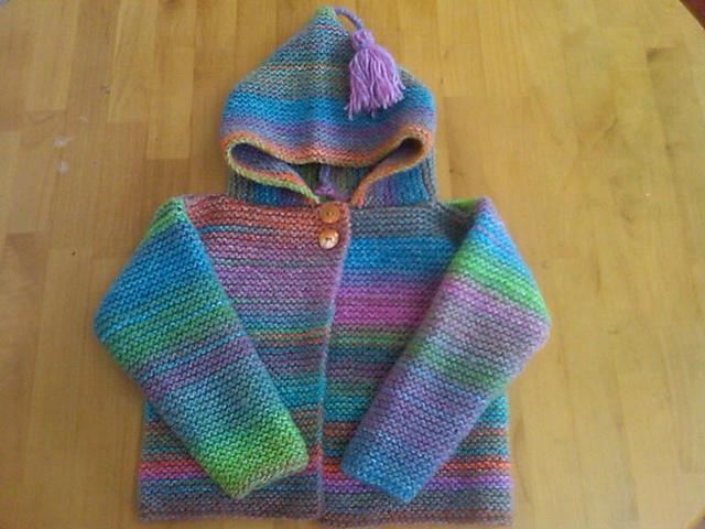 Ravelry Colorplay Hoodie Pattern By Lion Brand Yarn