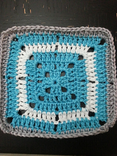 Ravelry Simple Filet Crochet Starburst Square Pattern By