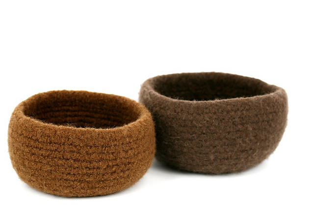 Ravelry Felted Bowls Pattern By Kelly Kingston