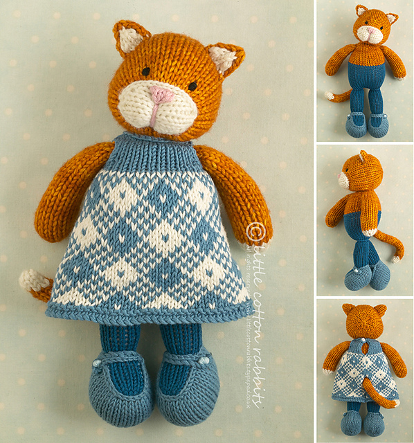 Ravelry Girl Cat Pattern By Julie Williams