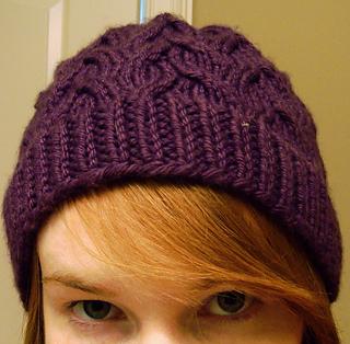 fba11697eb9 Ravelry  Cap Karma Hat pattern by SmarieK