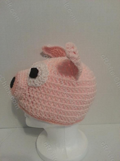 Three_little_pig_storytime_crochet_beanie_pattern_left_side_profile_view_small2