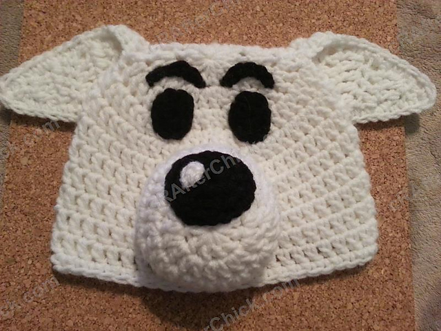 Ravelry Adventure Of Tintins Snowy The Dog Hat Pattern By Niki Wyre