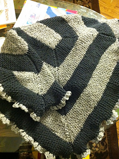 Ravelry 10 Stitch Blanket For Loom Knitters Pattern By