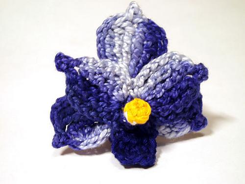 Ravelry: Blue Vanda Orchid Crochet Flower Pattern pattern by Camelia ...