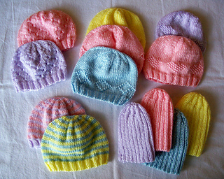 Ravelry  Preemie Hats for Charity pattern by Carissa Browning d6ba452af94