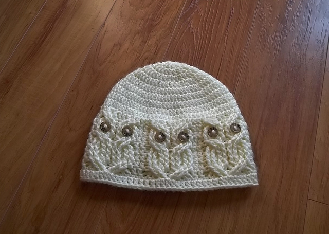 Ravelry It's A Hoot An Owl Hat Pattern By Carlinda Lewis Magnificent Free Owl Hat Knitting Pattern