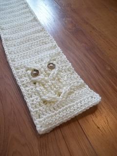 Ravelry  It s a Hoot! Owl Scarf pattern by Carlinda Lewis 5d7ae79c7ea
