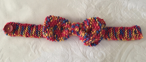 Ravelry: Knitted Dog Bow Tie pattern by Carol Fielding