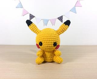 Amigurumi Patterns Pikachu : Ravelry: pikachu amigurumi pattern by clare heesh