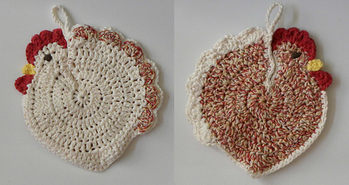 Ravelry Speckled Hen Potholder Pattern By Christine Ciliberto