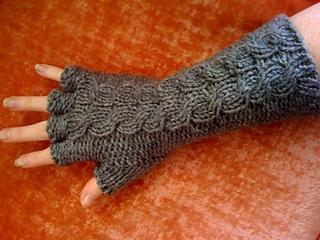 Ravelry: Half Finger Gorey Gloves pattern by Carrie Martin