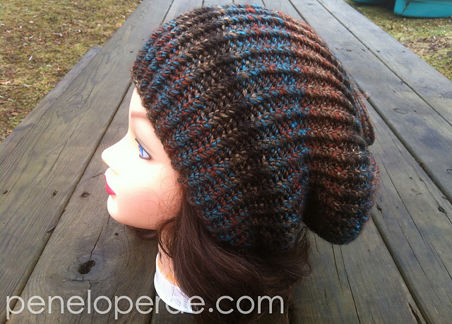 Ravelry The Perfect Knit Slouch Hat Pattern By Carrissa Knox