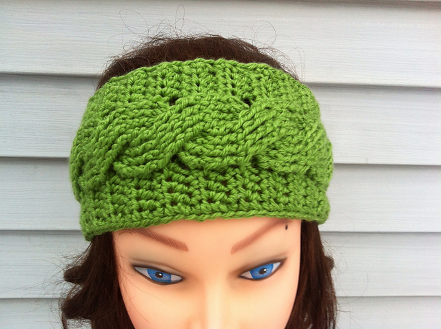 Ravelry Crochet Cable Headband Pattern By Carrissa Knox